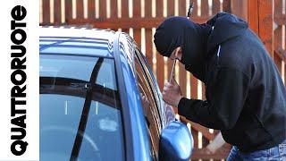 Furto d'auto: come lavorano i ladri e come evitarli