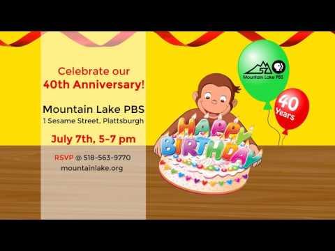 Celebrate Mountain Lake PBS 40th Anniversary!
