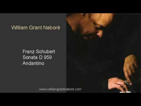 William Grant Nabore, Schubert Sonata D959