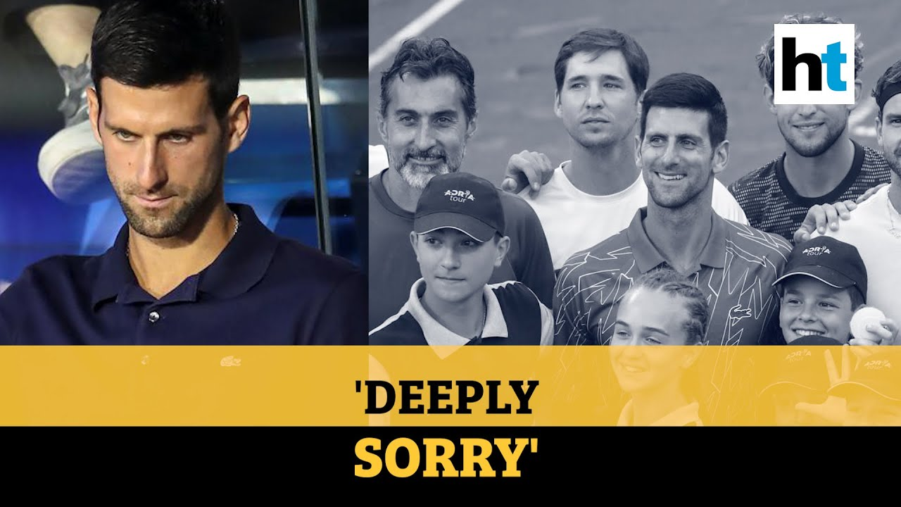 Tennis Star Novak Djokovic Apologizes After Testing Positive For ...