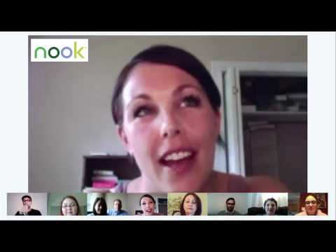 NOOK Google+ Hangout with Christopher Moore