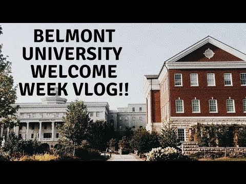 Belmont University Welcome Week!