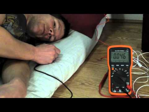 Earthing Sheets Demonstration With A Voltmeter