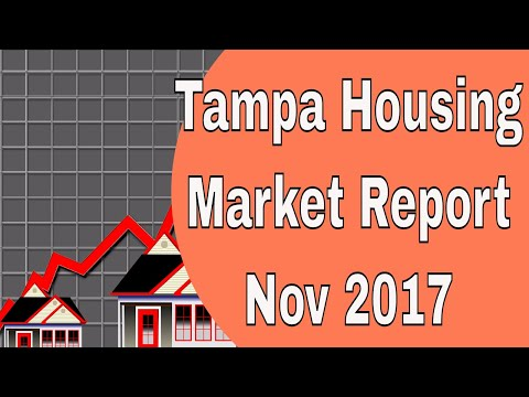 Tampa Housing Market Report for November 2017