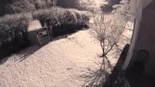Evening Snow Timelapse 2 12 14
