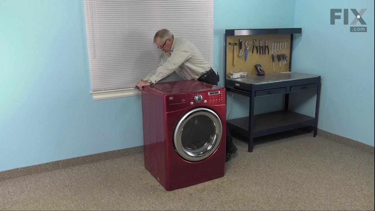 Lg Dryer Repair >> Lg Dryer Repair How To Replace The Dry Belt