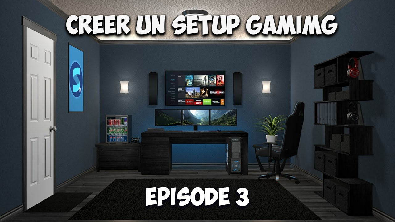 Creer un setup gaming cable management youtube