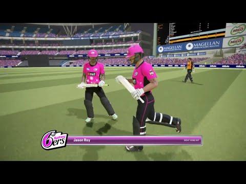 Ashes Cricket Sydney sixer vs Perth scorchers T10 full match
