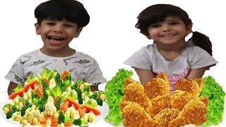 نواف تعليم المشاركة !!! NAWAF Learn to Share Food