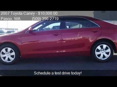 2007 toyota camry le for sale in pasco wa 99301 at west co youtube. Black Bedroom Furniture Sets. Home Design Ideas