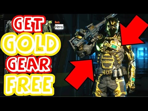 unlock gold weapons
