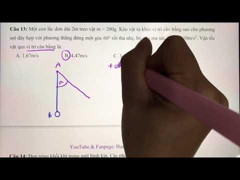 #1 - VẬT LÝ 10 - Giải Đề Thi Giữa Kỳ 2 môn Vật Lý lớp 10 - Đề số 1