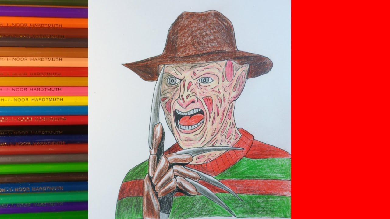 Как нарисовать фредди крюгера фото 141-804