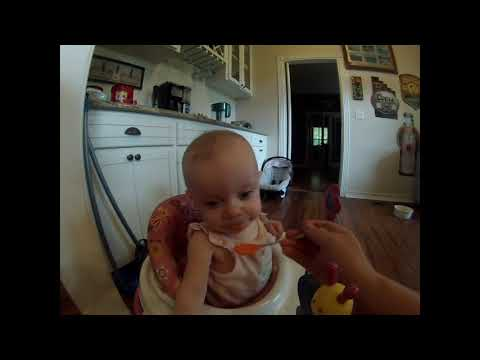How To Make Pureed Butternut Squash! 6 Month Old Baby Food