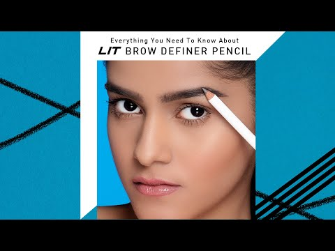 Everything You Need To Know About LIT Brow Definer Pencil   New Launch   MyGlamm