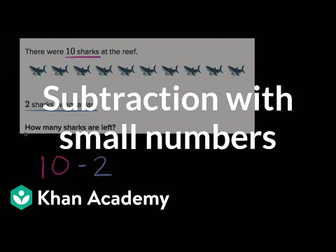 Subtraction Word Problems Within 10 | Basic Addition And Subtraction | Early Math | Khan Academy