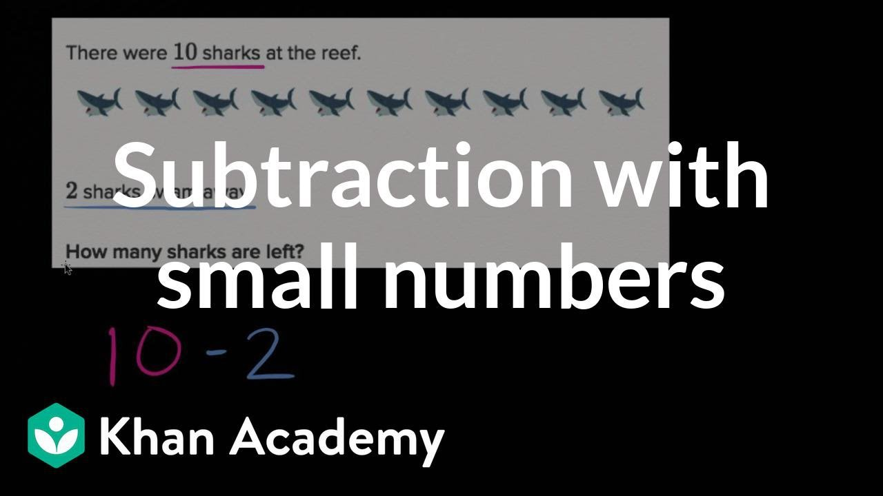 Worksheet Khan Academy Subtraction subtraction word problems within 10 basic addition and early math khan academy