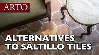 alternatives to saltillo tiles for kitchens and outdoor patio applications