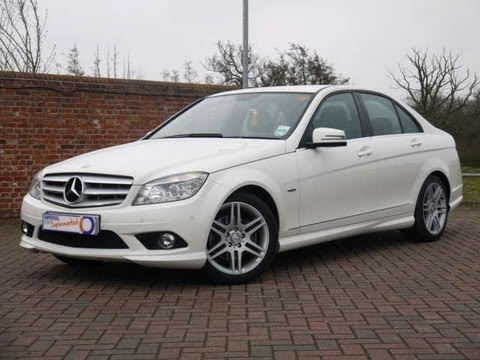 2010 mercedes benz c250 cdi sport blueefficiency white for 2010 mercedes benz c250