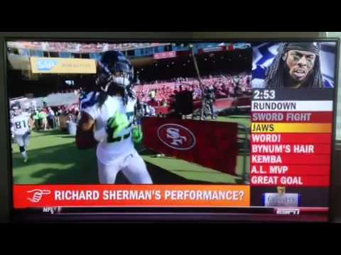 Jaws on how Richard Sherman is the Best