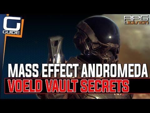 Mass Effect Andromeda - Voeld Vault Secrets (Pillar Puzzle & Terminal Gylph Puzzle)