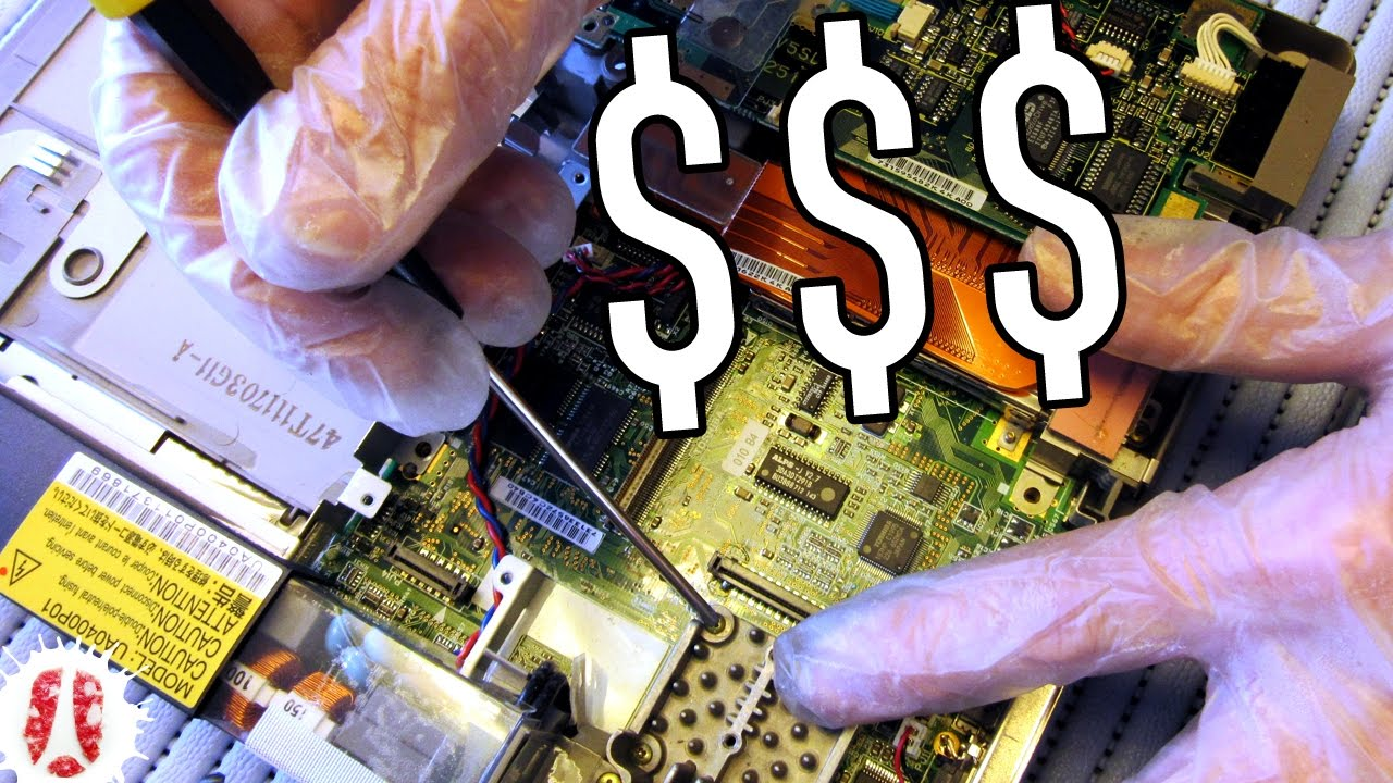 12 Things You Can Reuse Inside A Dead Laptop How To Disassemble Creative And Cool Ways Old Circuit Boards 15 1 Recover Parts