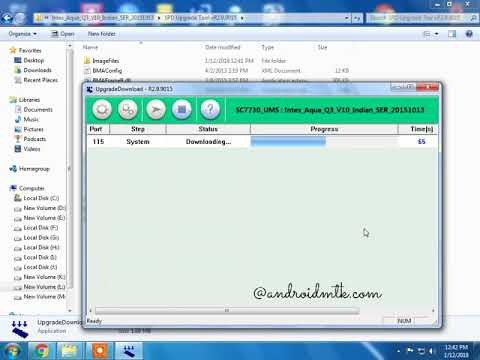 Intex Aqua Q3 How To Flash