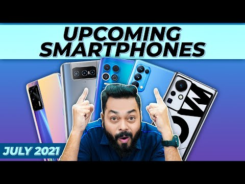 Top 10+ Best Upcoming Mobile Phone Launches ⚡ July 2021