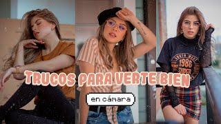 Cómo SALIR BIEN en las FOTOS ⚡ Camila Dust