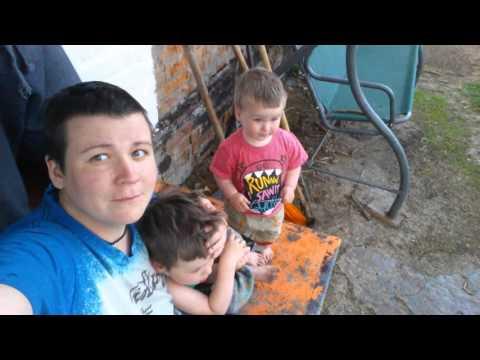 Family Life in Rural Ukraine, episode 15: It's Raining