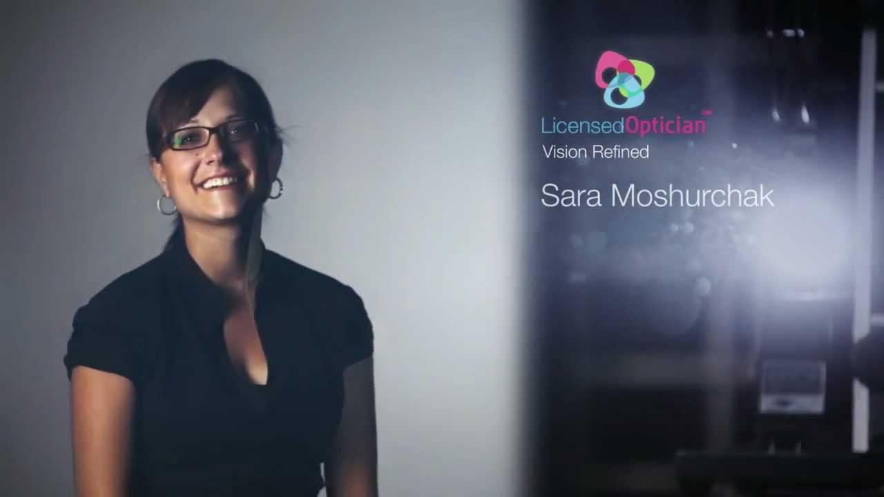I Am A Licensed Optician Sara Moshurchak Youtube