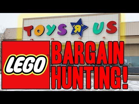 LEGO Bargain Shopping