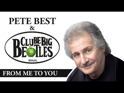 From Me To You - PETE BEST (first Beatles drummer) & Clube Big Beatles - Brazil - 2015 (5/6)