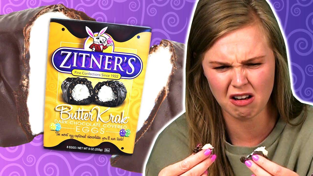 Irish People Try Zitner's American Chocolate