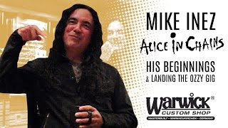 Framus & Warwick - Interview with Mike Inez (Alice In Chains & Heart) Pt.1 of 4