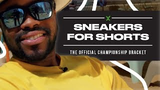 StockX Sneakers For Shorts Official Championship Bracket