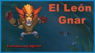 El León Gnar - New Skin (League of Legends)