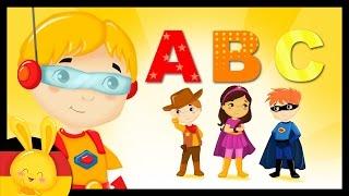 Das Alphabet - ABC Lied - Lernlied - 60 Minuten- Das gesamte ABC - Schnell Deutsch lernen