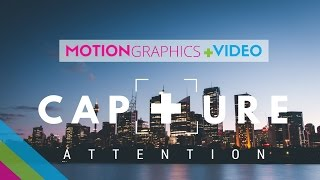 Corporate Video - Attracting Attention In Motion - Corporate Motion Graphic Videos   7&7 Digital