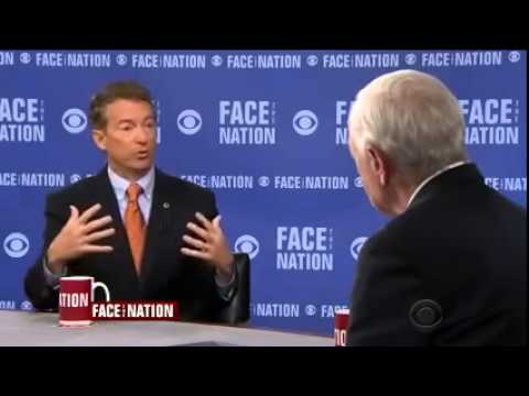 Rand Paul on Face the Nation CBS