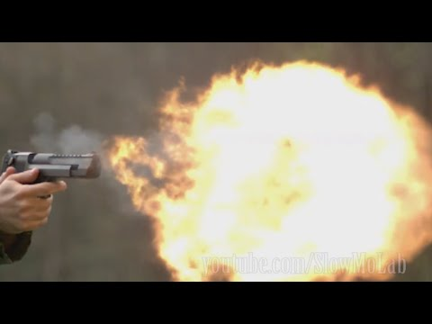 Amazing Slow Motion Gun Compilation | Slow Mo Lab