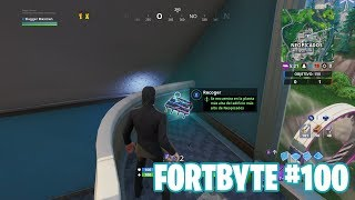 Fortnite Battle Royale ? Fortbyte Challenges How to get the Fortbyte #100
