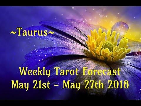 Taurus Weekly Tarot ~ May 21st - 27th 2018