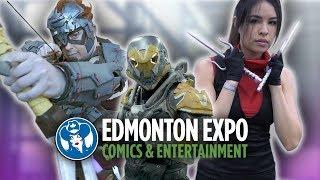 Edmonton Comic Expo 2018 - A VLOG