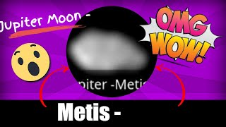 Jupiter Moon - Metis - Real Pictures - youtube.com/MoonMonde