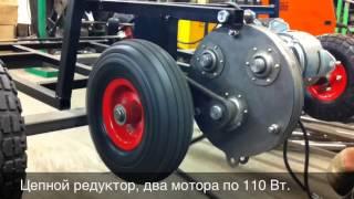 видео: Электромоторы для электромобилей