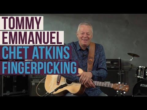 Tommy Emmanuel Lesson - How to Fingerpick Like Chet Atkins