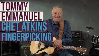 Tommy Emmanuel Lesson - How to Fingerpick Like Chet Atkins