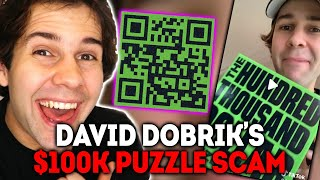 David Dobrik's $100k Puzzle Giveaway Scam on TikTok