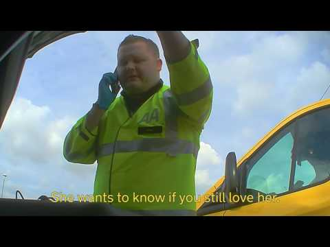 12 hidden cameras, one VERY emotional breakdown…The AA. Because anything can happen.
